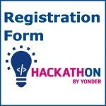 Hackathon registration form