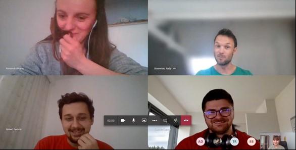 virtual T&P hackathon Yonder team
