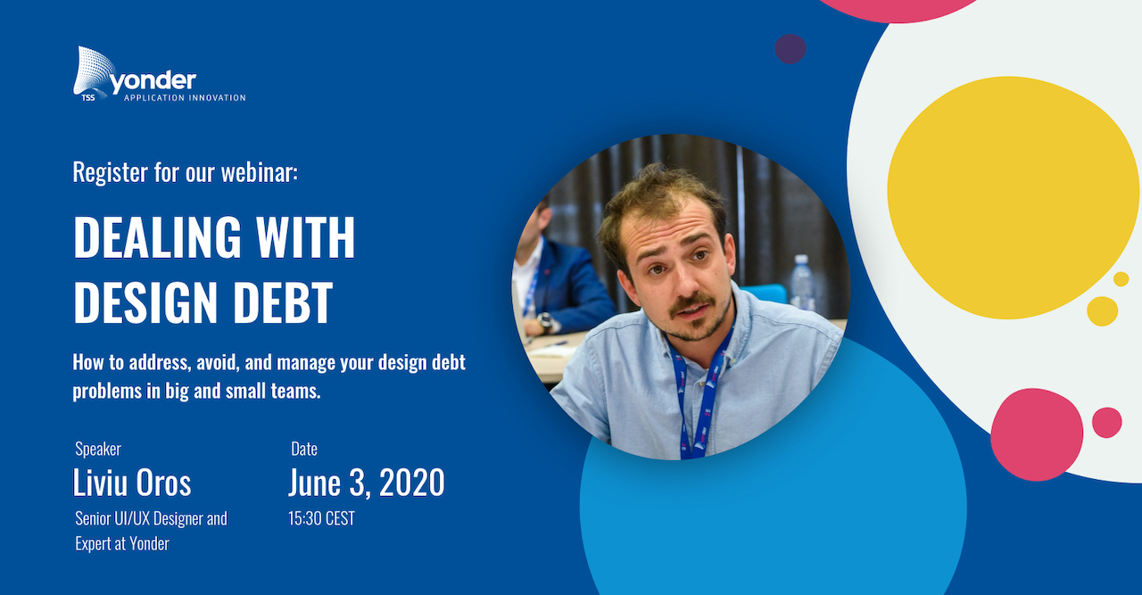 Webinar Design Debt